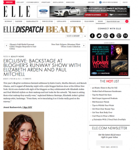 Elle Magazine, LoveBrownSugar Feature, elle magazine beauty