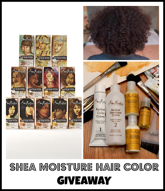Lbs Giveaway Sheamoisture Hair Color Collection