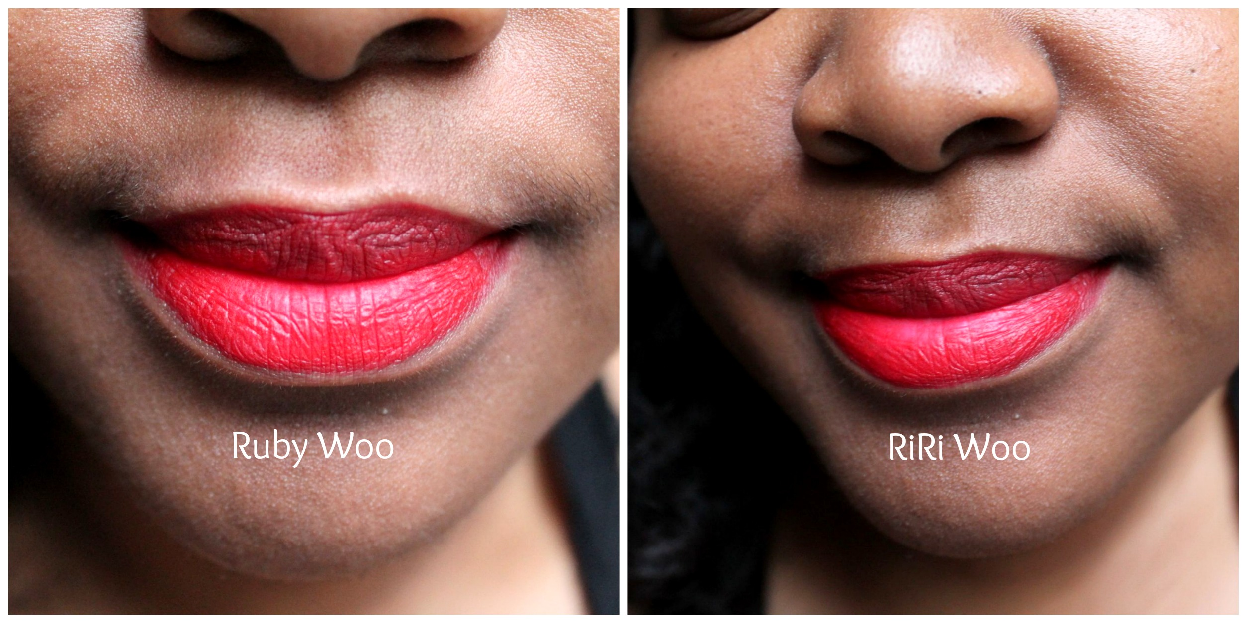 LBS Beauty Review: MAC RiRi Woo vs. Ruby Woo ...