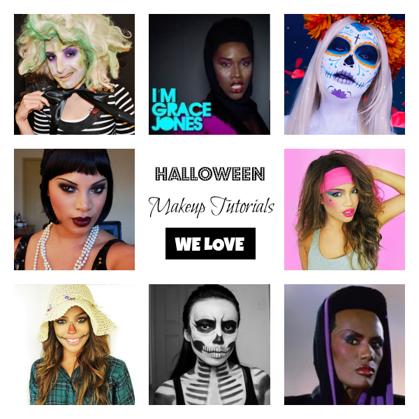 Halloween Makeup Tutorials We Love