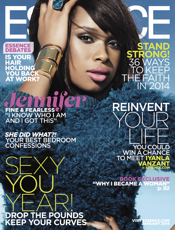 ESSENCE Jennifer Hudson-Jan