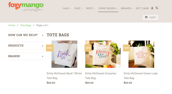 Emily McDowell Tote Bags