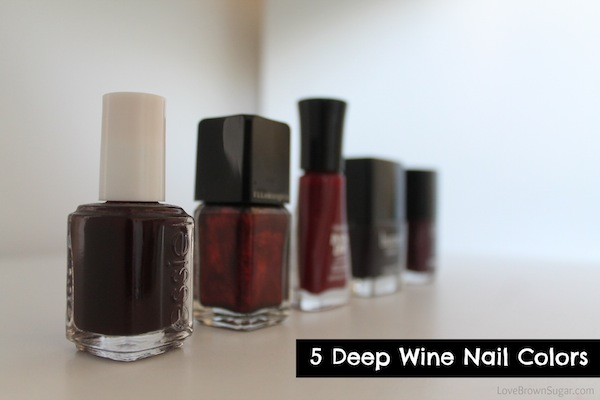 deep-wine-nail-colors