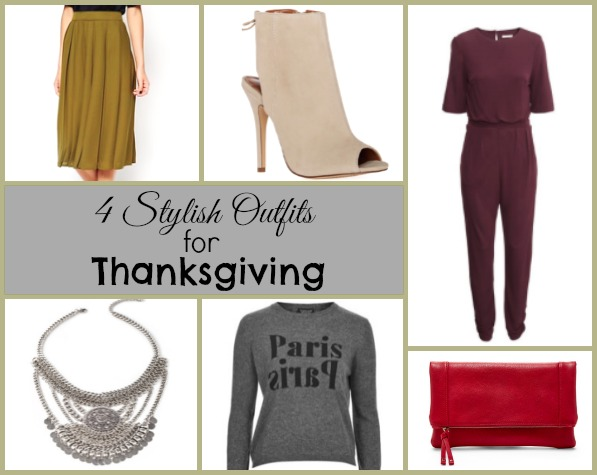 4 stylish outfits for thanksgiving