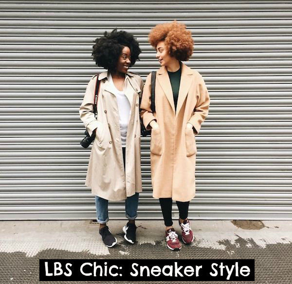 lbs chic sneaker style