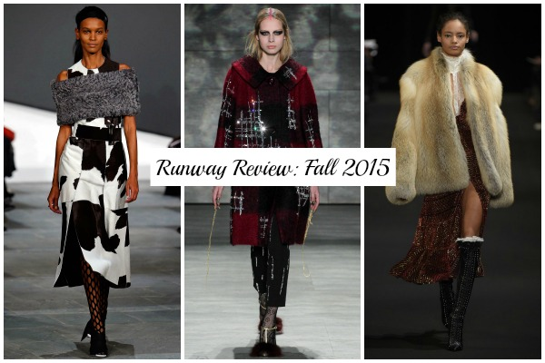Runwa y Review Fall 2015 Collage