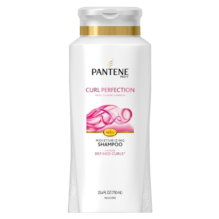 Pantene pro v curly hair series