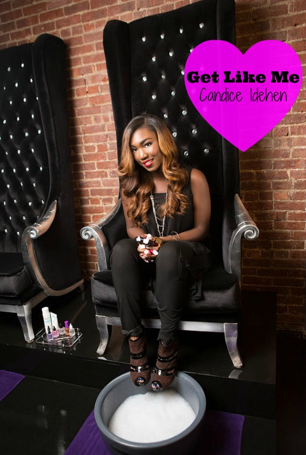 Get like me: bed of nails owner candice idehen ...