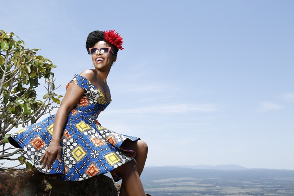 Nomzamo-Mbatha-Takes-A-Moment-To-Pose-For-An-Instagram-Pic