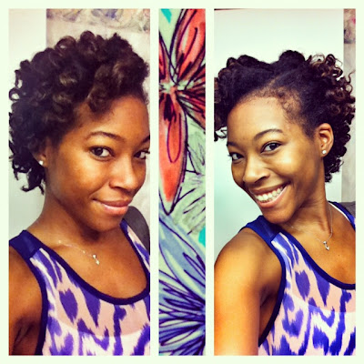 no heat styles for relaxed hair drop the dryer bantu knot out lovebrownsugar 2624